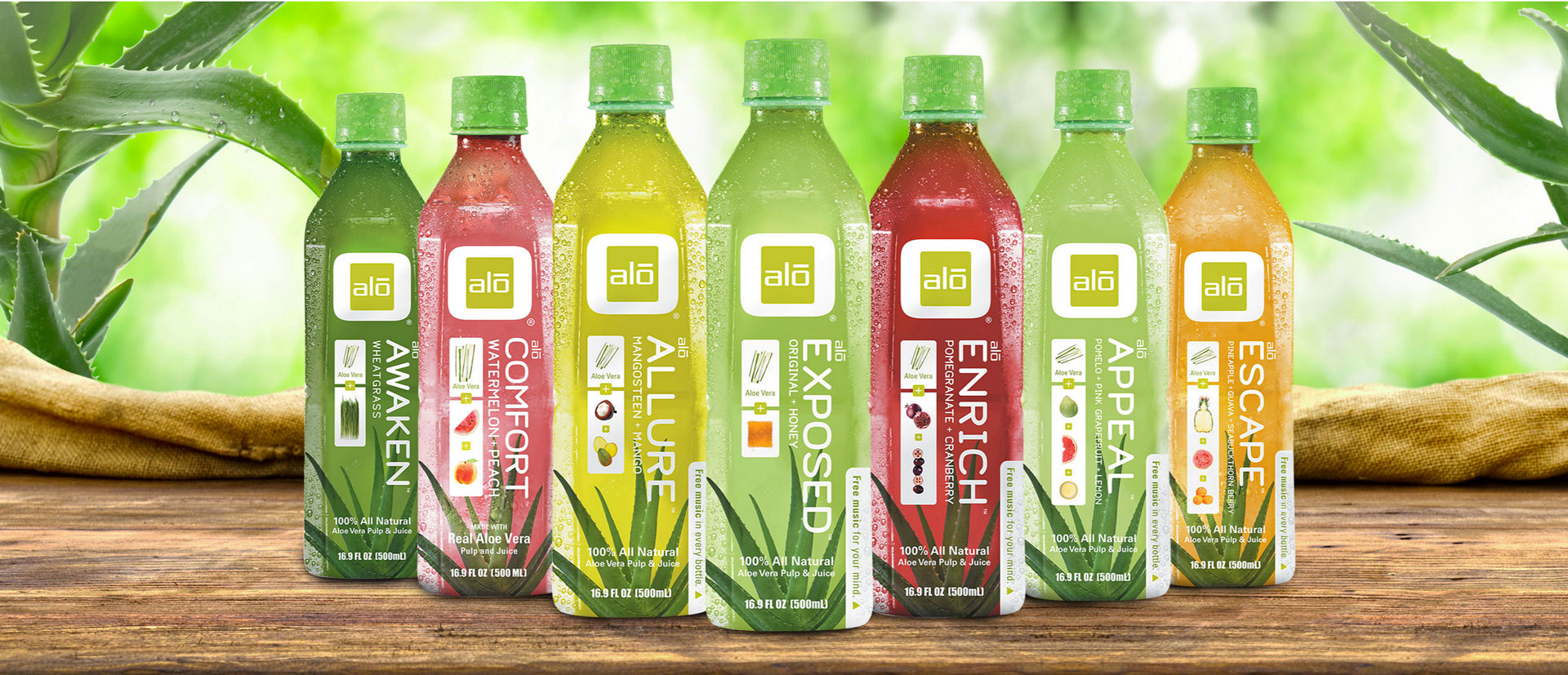 'Natural Drinks, Pure Ingredients With No Excuses'